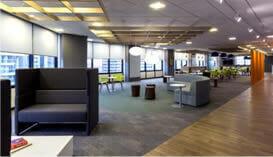 Piso Vinílico e Carpetes para Ambientes Empresariais